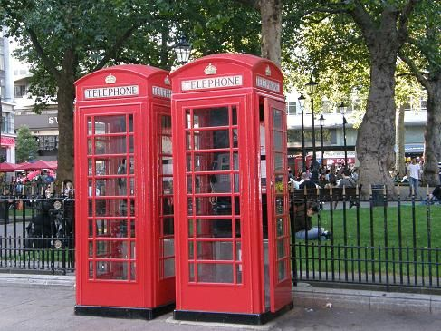 Cabinas londinenses