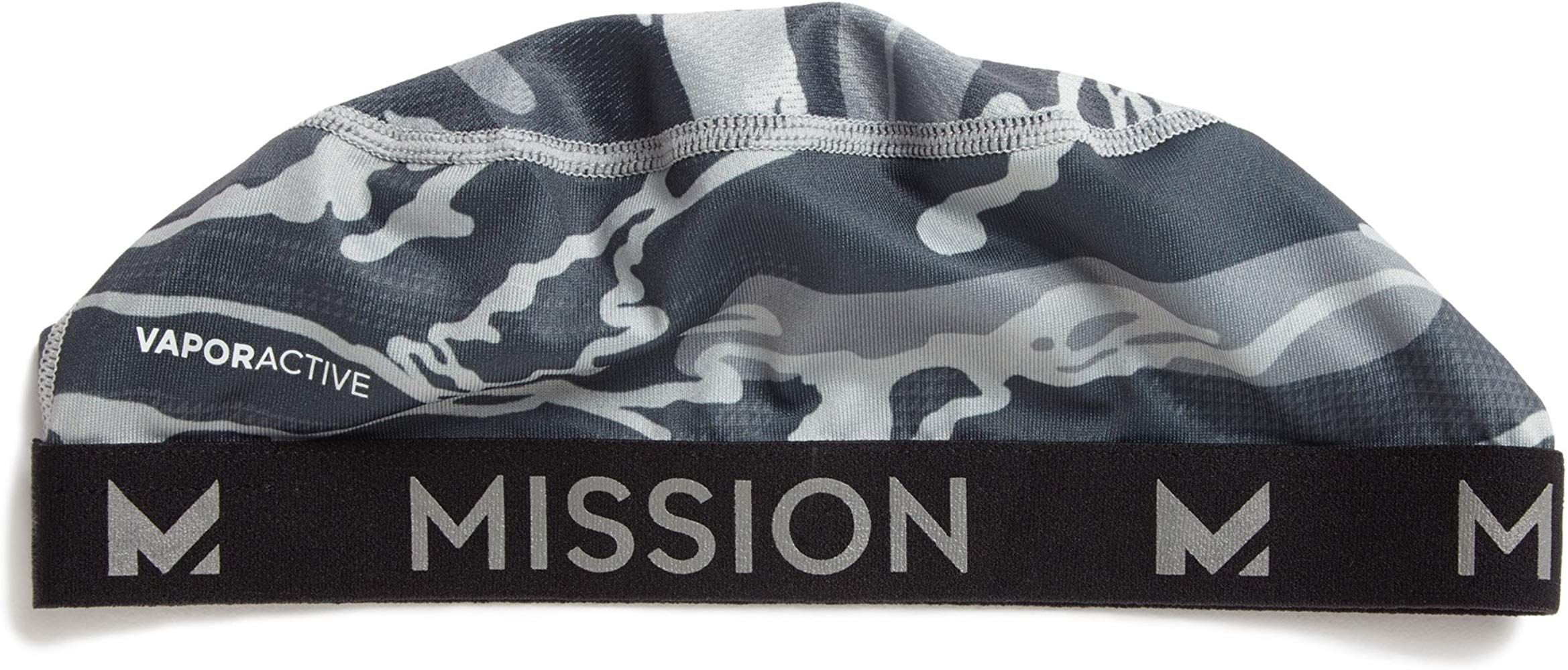 Mission Vaporactive Cooling Skull Cap Matrix Camo Silver One Size