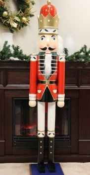 looking for life size nutcrackers or tin soldiers heres what ive found on todays hunt for large replicas of these two fabulous decorations - Large Life Size Toy Soldier Christmas Outdoor Decorations
