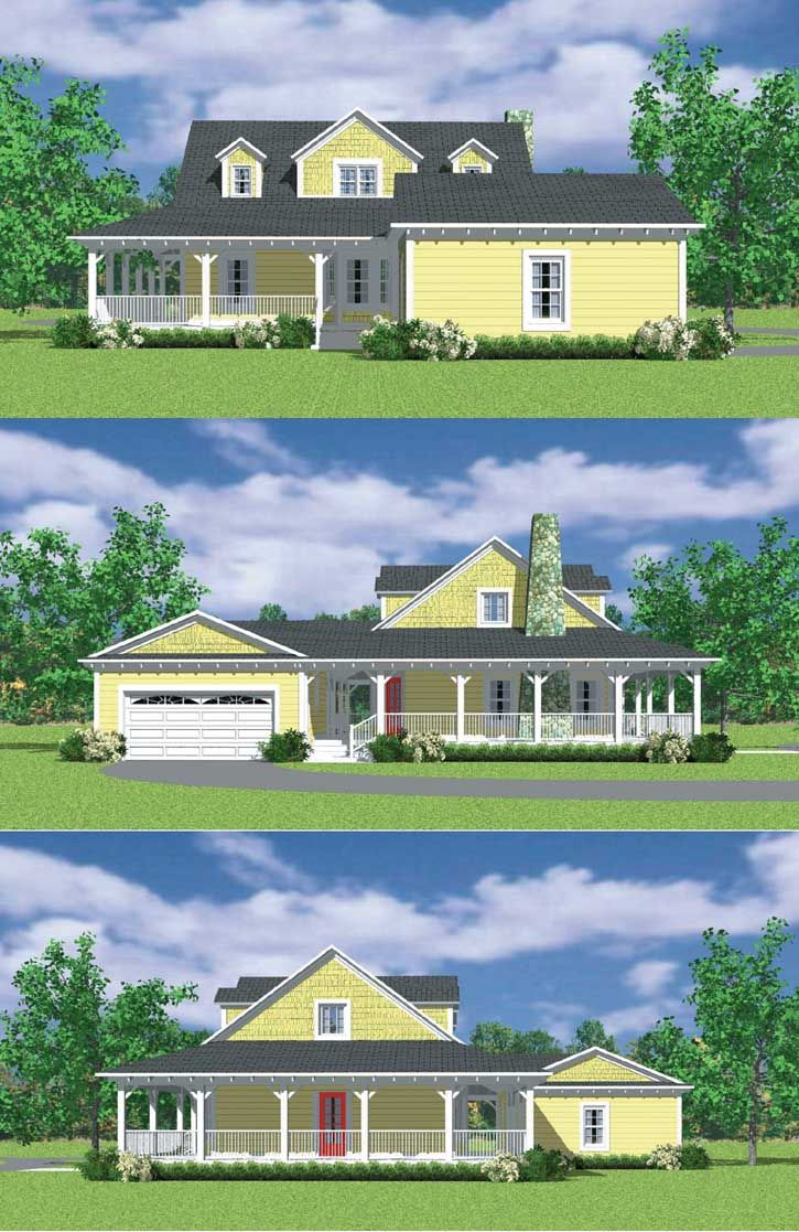 Farm Style House Plans 1673 Square