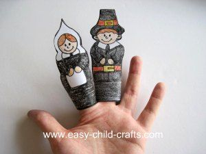 Several different Thanksgiving craft ideas.