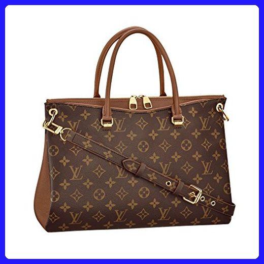 914323c83f70 Louis Vuitton Monogram Canvas Pallas Noisette Handbag Article  M42755 Made  in France - Top handle bags ( Amazon Partner-Link)