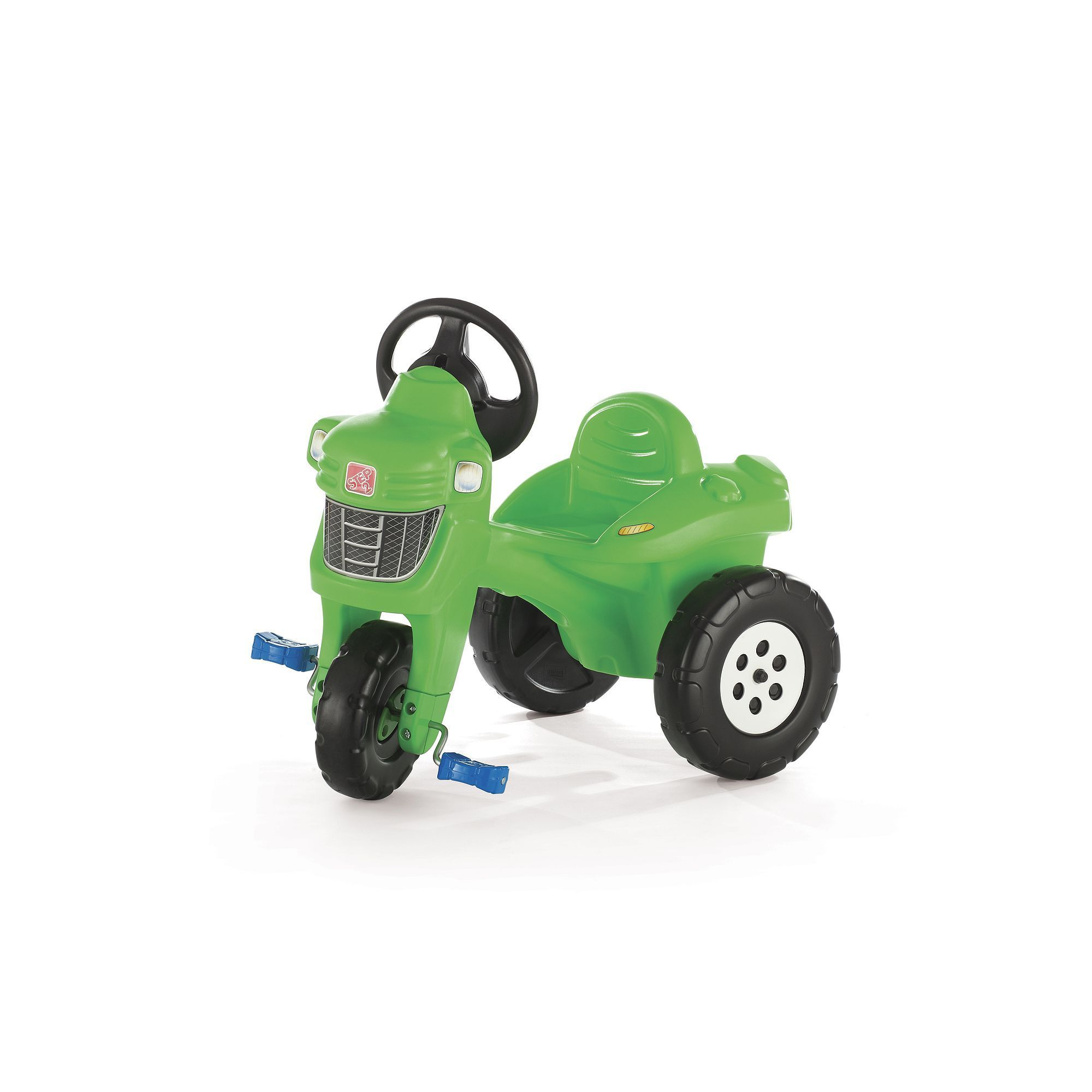 B toys cars  Step Pedal Farm Tractor RideOn Multicolor  Products