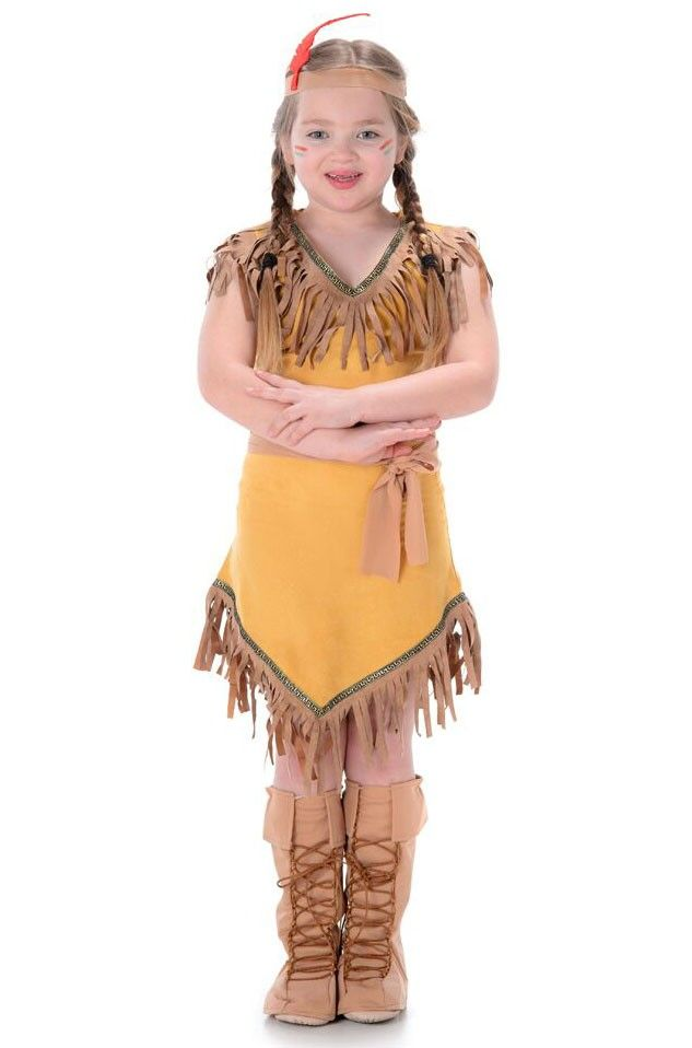 2c6aa0b2c <p>Paint with all the colours of the wind in this girls classic Native  American Indian fancy dress costume by…