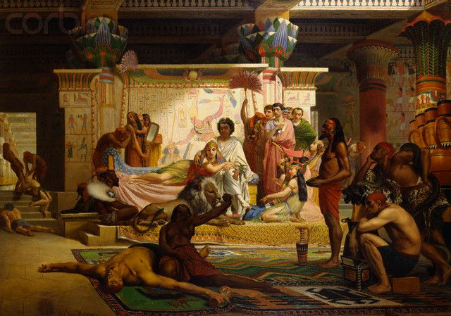 'Antony & Cleopatra, Egyptian Theater' by Alexis van Hamme.