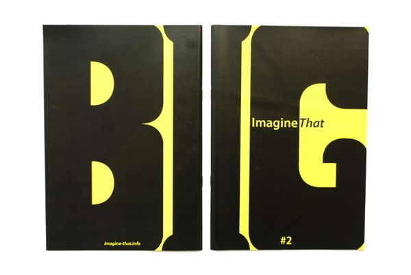 ImagineThat: Issues #1 and #2 on Editorial Design Served