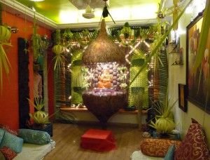 creative ganpati decoration ideas for home - Simple Ideas To Decorate Home 2