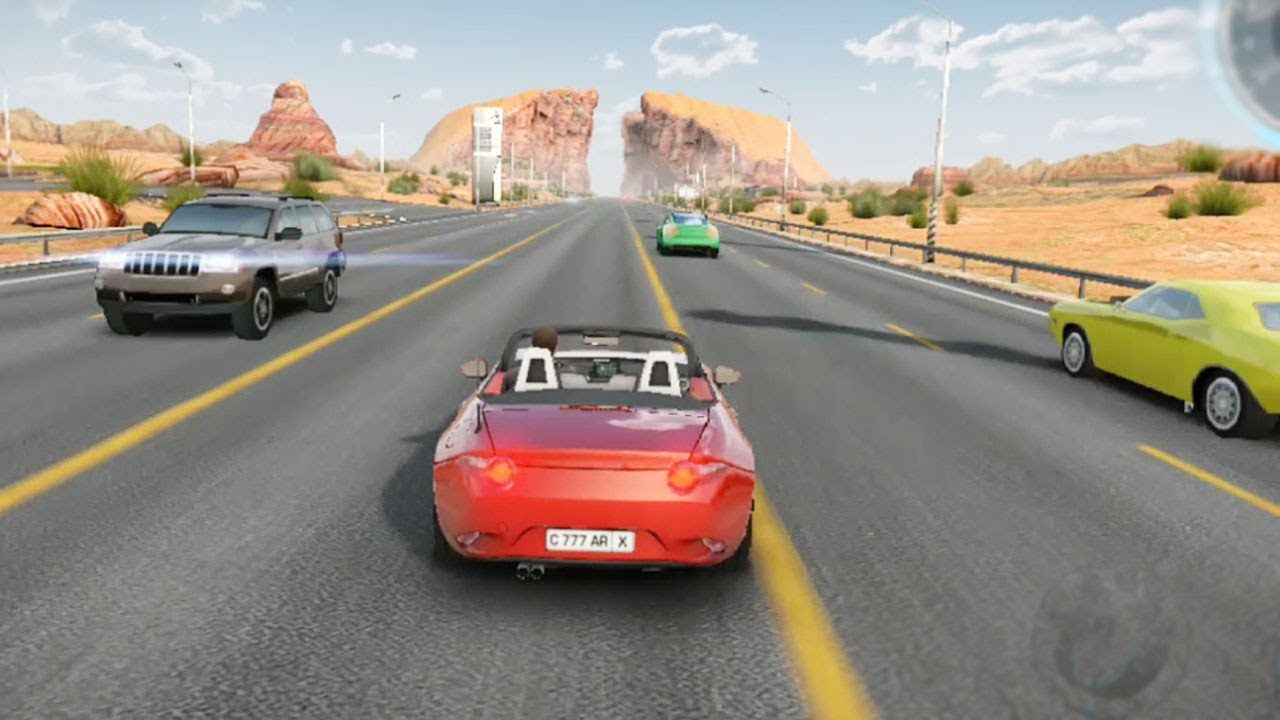 Highway Car Racing 10 Step Completed And Excellent Moment Car
