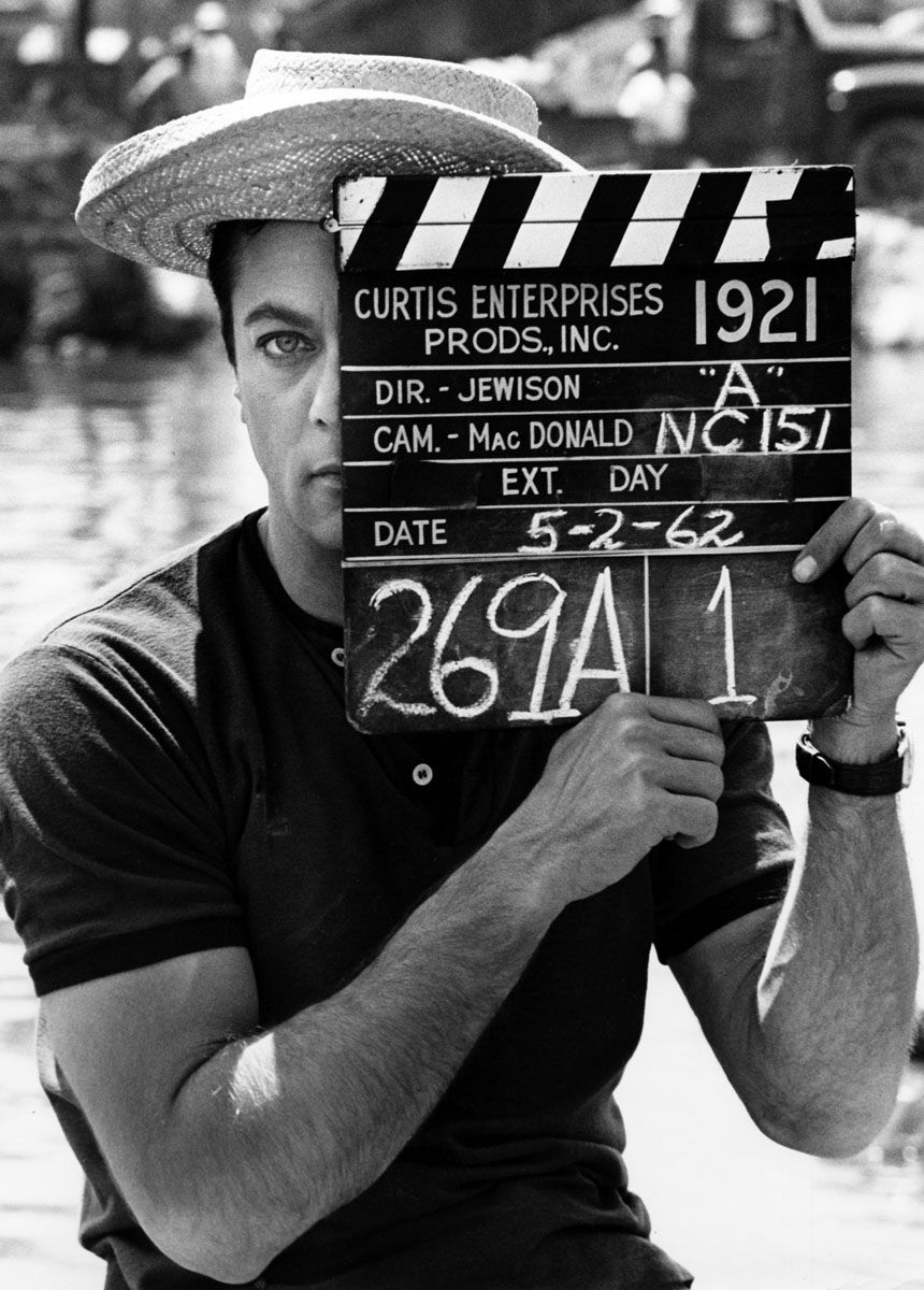 """One of my first movie idols, Tony Curtis in """"Forty Pounds of Trouble.""""  {© Leo Fuchs 1962. From the book """"Leo Fuchs: Special Photographer from the Golden Age of Hollywood,"""" available on amazon.com}"""