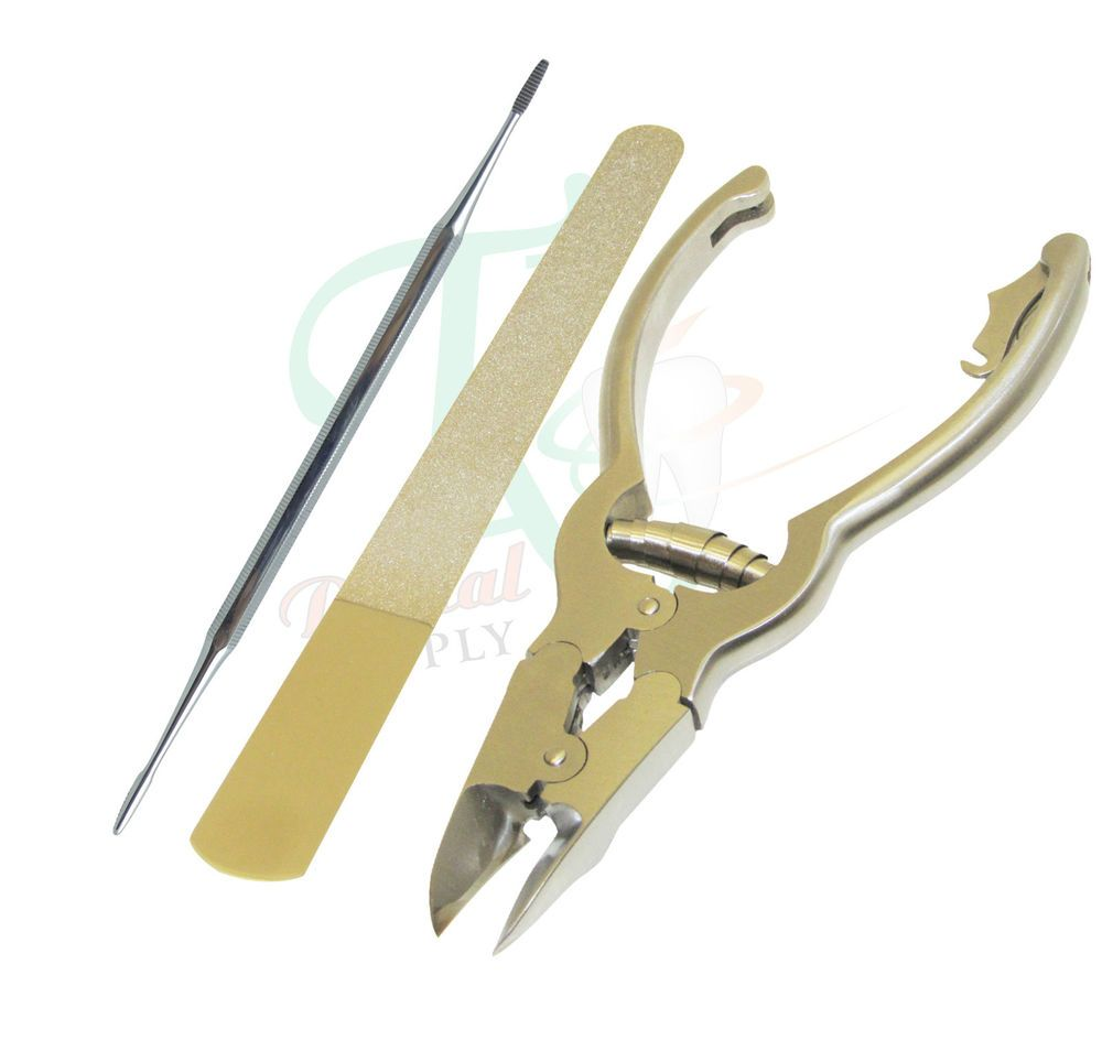 Cantilever Nail Nippers Clippers Diamond Deb Chiropody Podiatry ...