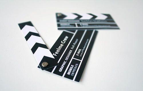 Luces, cámara, acción | Business Card