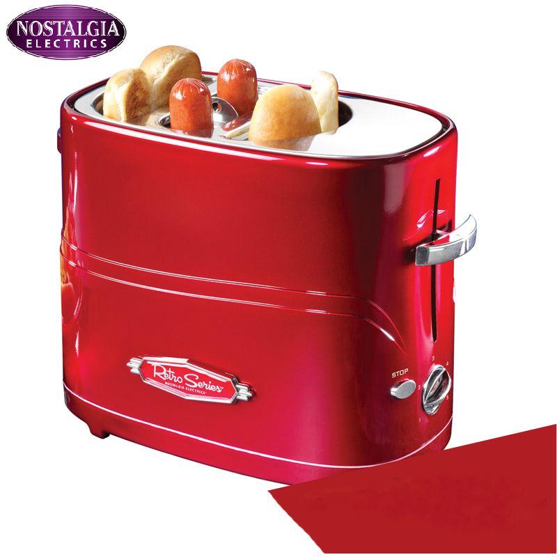 가정용 자동 미니 아침 식사 기계, 미국의 가정용 미니 핫도그 기계, 빵/소시지 메이커 토스트 노