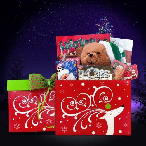 Christmas Gift Basket for Kids - A Gift Box Full of Christmas Games ...
