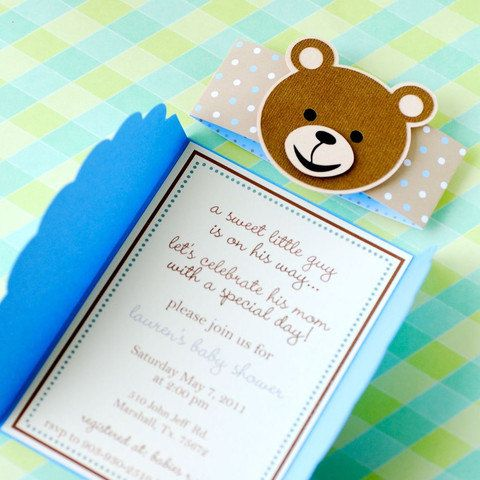 Gate fold teddy bear invitations personalized kimky kards inspo gate fold teddy bear invitations by prettypaperparty on etsy filmwisefo