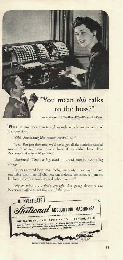 National Accounting Machines (1941)