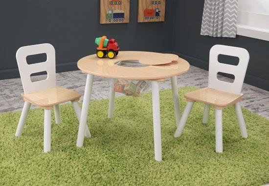 Table Ronde Et Ses Deux Chaises Au Meilleur Prix Table Enfant Table Et Chaises Chaise Enfant