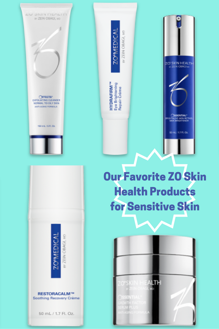 Our Favorite Zo Skin Health Products For Sensitive Skin Zo Skin Health Sensitive Skin Products Are Designed To Specifical Skin Health Oils For Skin Skin Care