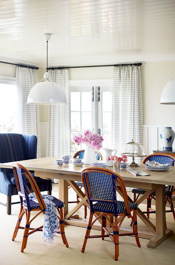 Trending white lights circa lighting eugene pendants by thomas obrien andrew · blue dining roomsmonday inspirationhgtv