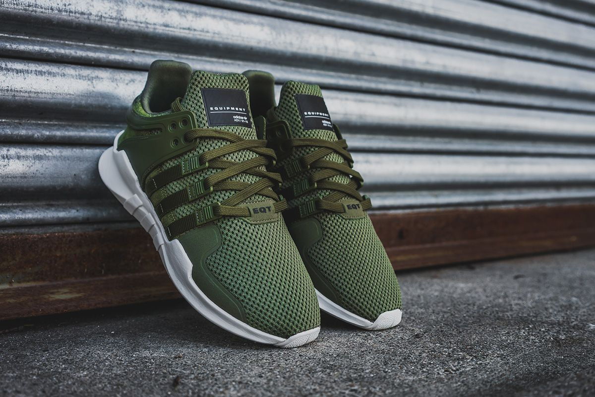 Adidas Eqt Support Adv 91 16 A œolivea Detailed Pictures Eu Kicks Sneaker Magazine In 2021 Trendy Shoes Sneakers Adidas Sneakers