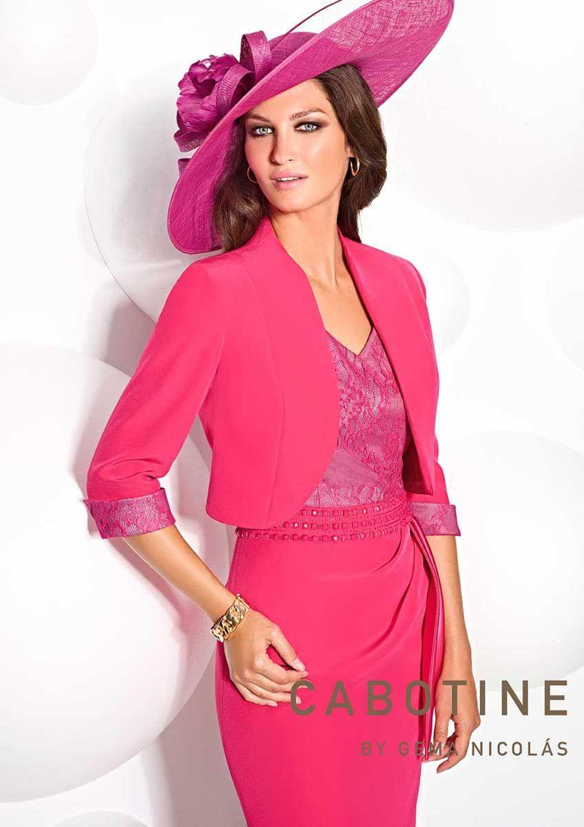 Colección Vestidos de Fiesta Cabotine 2015 - Entrenovias | Pinterest ...