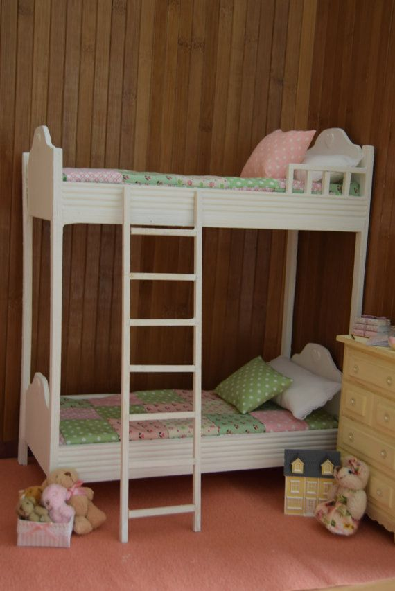 m bel holzbett 1 6 f r pullip und blythe momoko barbie licca azone reine neemo etc. Black Bedroom Furniture Sets. Home Design Ideas