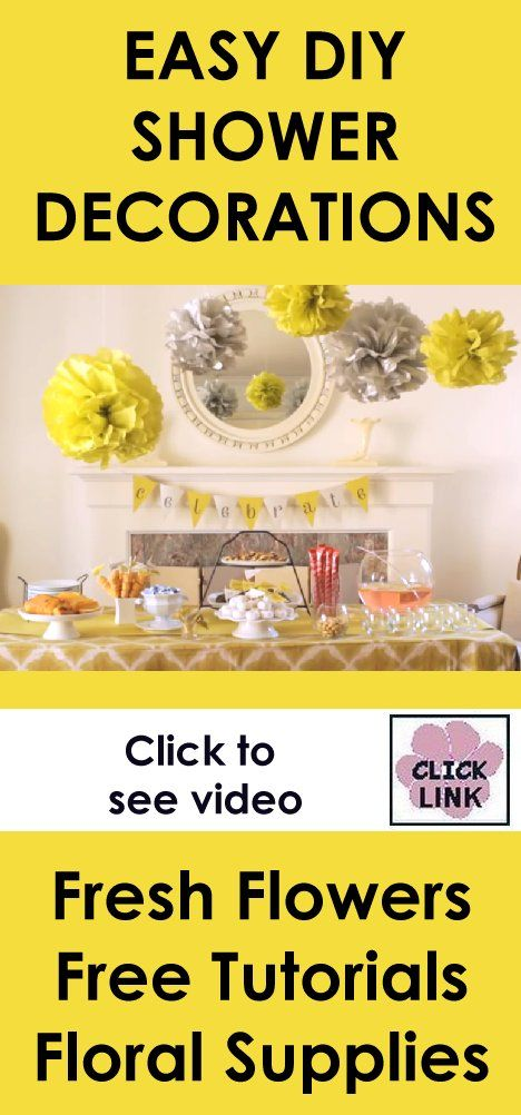 Pin By Donna Lowder On Diy Why Not Bridal Shower Decorations
