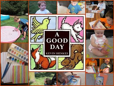8 Simple and Fun Activities to Try After Reading A Good Day by Kevin Henkes