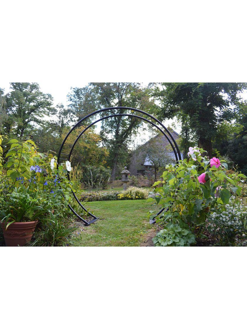 Moon Gate Arch Gardener S Supply Diy Garden Projects Garden
