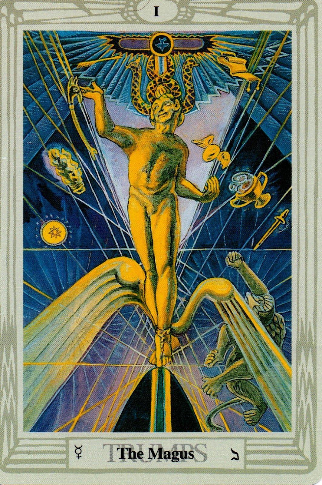 Tarot de Thoth venta en arquetipica.mx