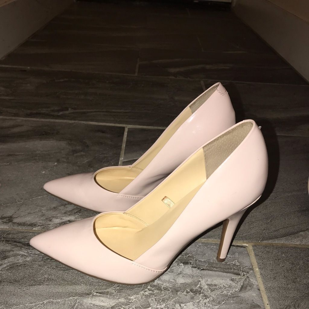 50af9d96384 Guess Shoes | Blushpale Pink Patent Leather Guess Pumps | Color ...