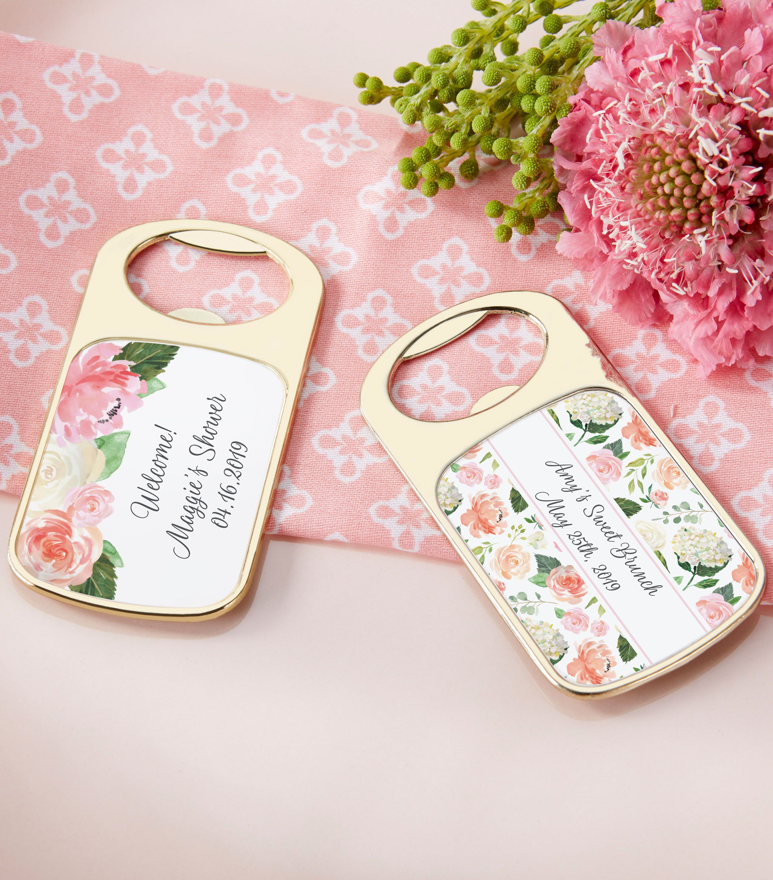 Personalized Bridal Brunch Gold Bottle Opener | Pinterest | Bridal ...