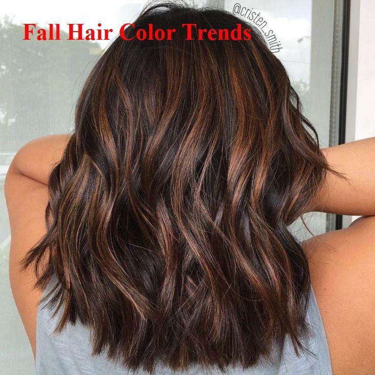 60 Idee per capelli color cioccolato marrone per brune