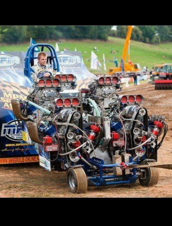 5 Engine Truck & Trailer Puller   pullers   Tractor pulling