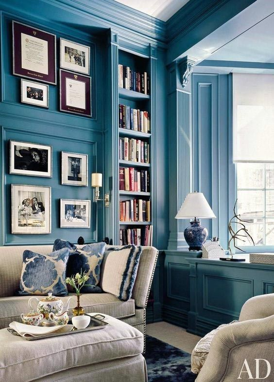 Sherwin Williams Color Of 2018 Oceanside Blue Interior Decor Wall Paint
