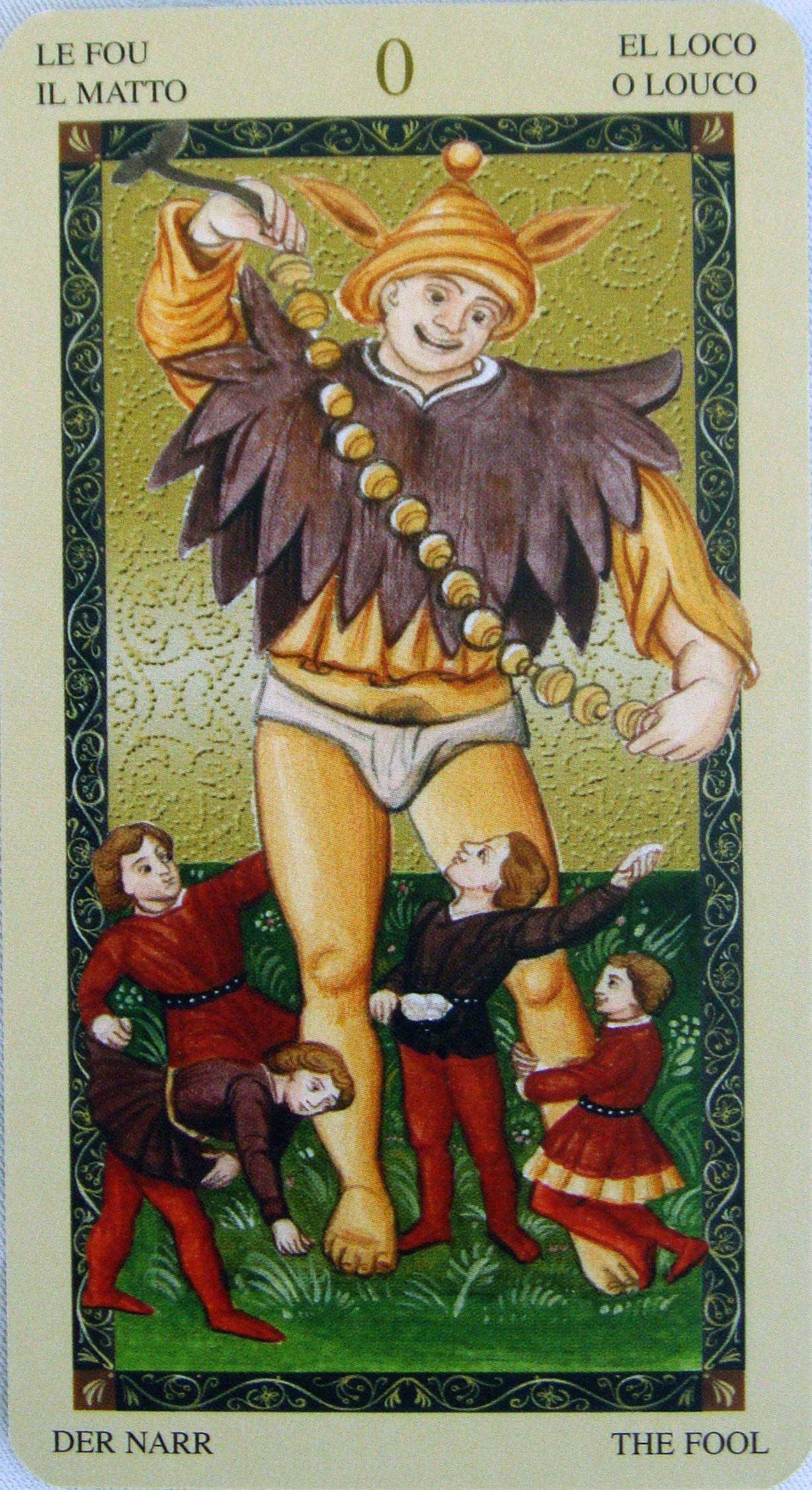 Tarot of the Renaissance Spanish edition  | The Fool