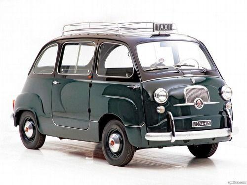 Fiat 600 multipla taxi 1956