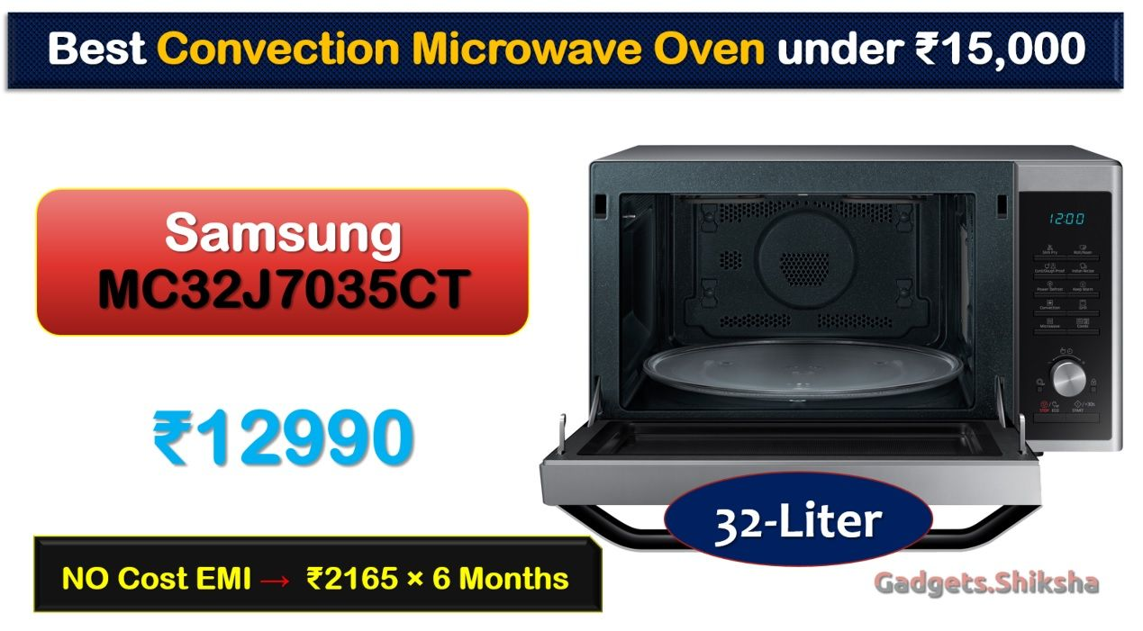 32L #Samsung MC32J7035CT Convection Microwave Oven