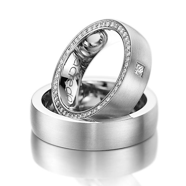 la alianza perfecta: platino #boda #alianzas | alianzas y joyas