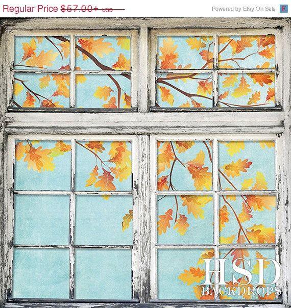 SALE Fall Photography Backdrop Photography by HSDBackdrops on Etsy, $48.45