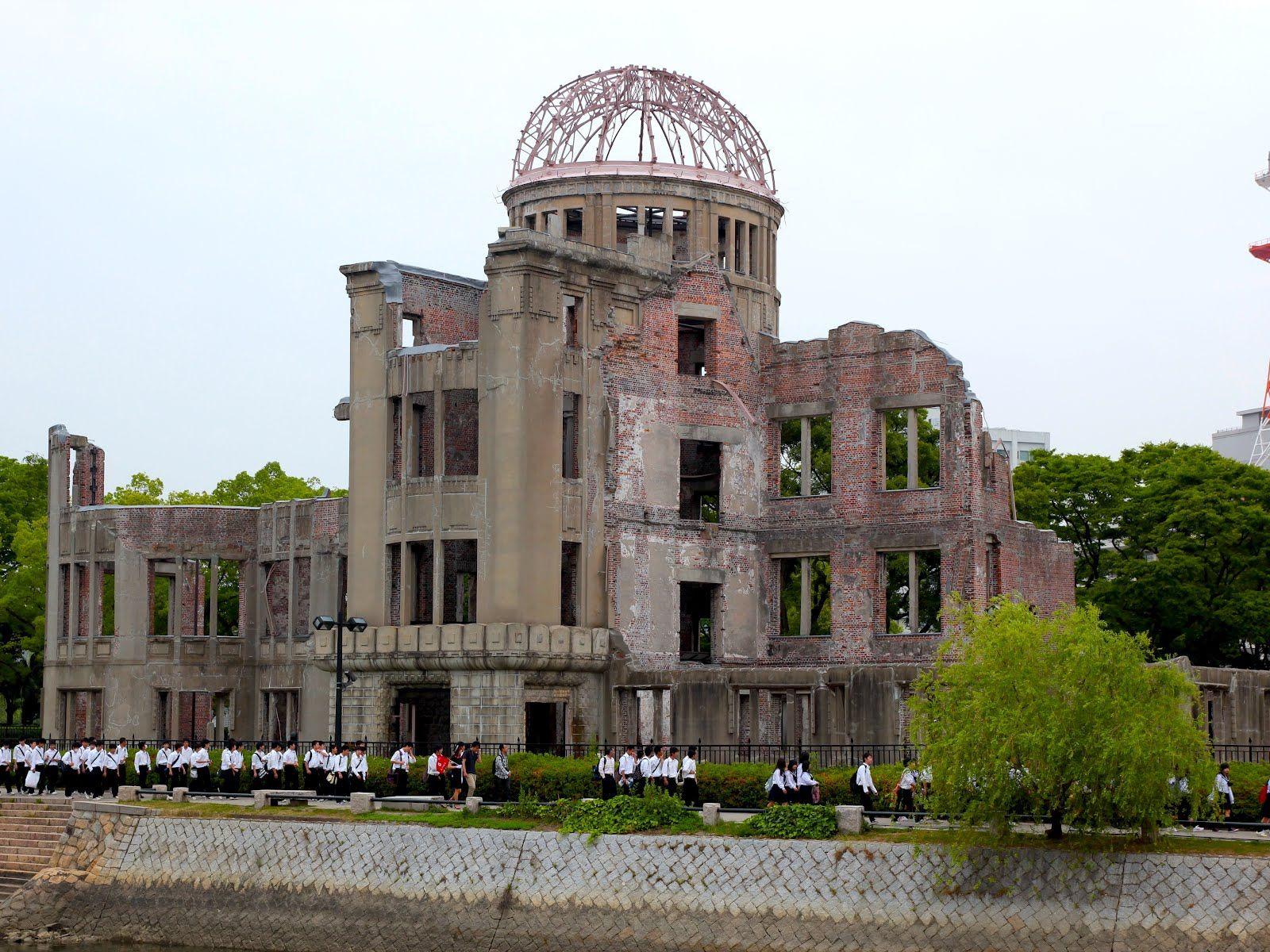 War Memorial Hiroshima Idea & Form Monuments