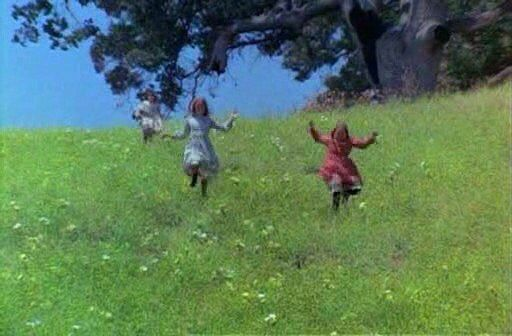 Image result for laura ingalls running down the hill