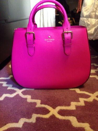 Kate Spade Hot Pink Top Handle Purse