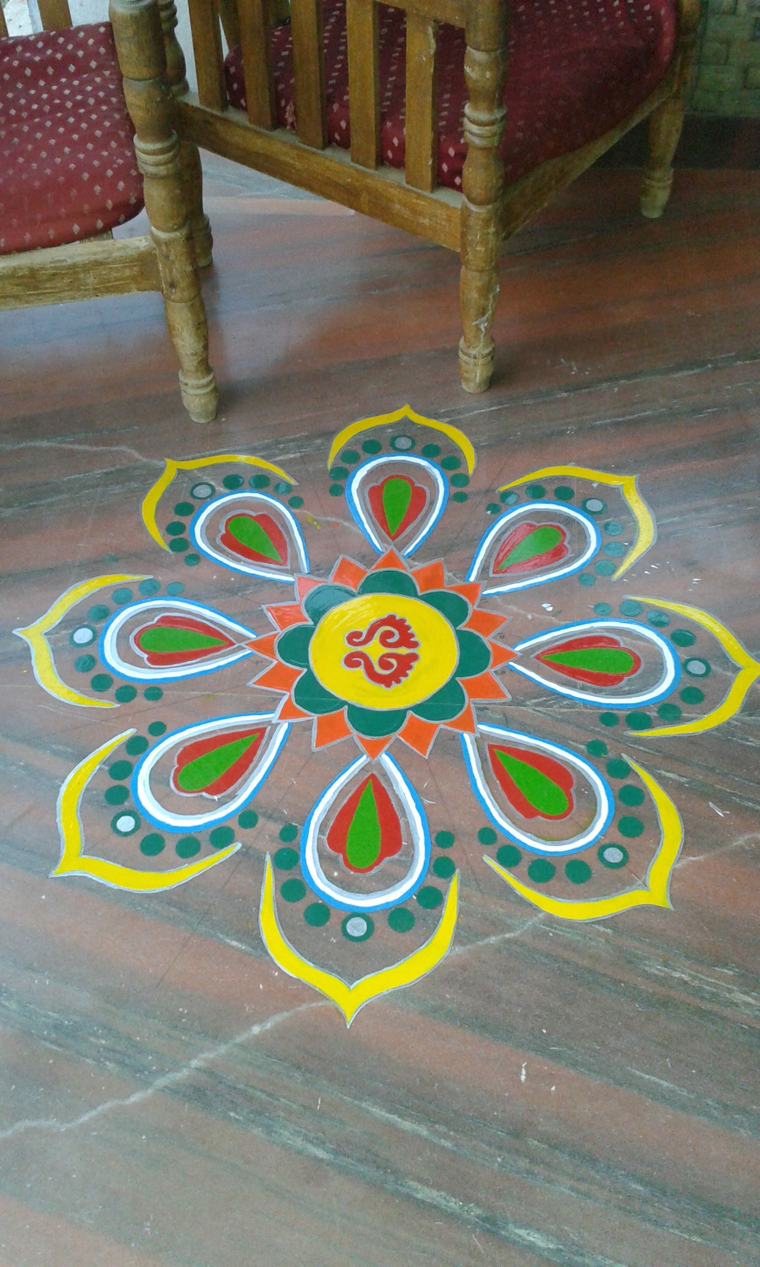 Oilpaint Rangoli Rangoli Pinterest Rangoli Designs Clay And