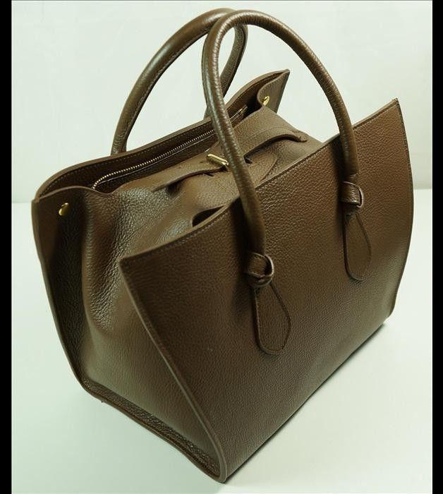 Ledertaschen - Handgefertigte Ledertasche Schultertasche Damen - ein Designerstück von Taschen-for-you bei DaWanda