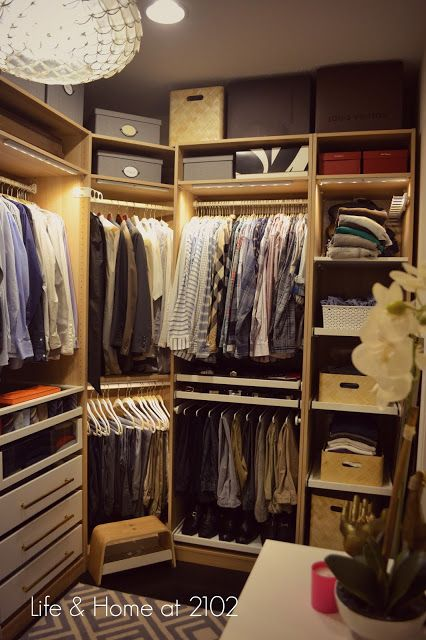 Life & Home at 2102 Guide to Building your own Closet