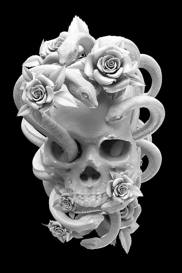 Dastroul Vida Muerte Y Polemica Calavera Rosas Y Serpientes