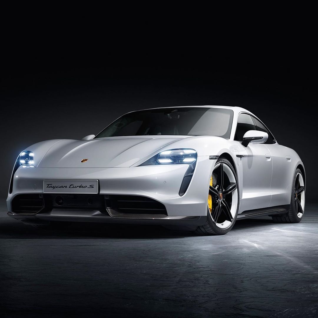 The 2020 electric Porsche Taycan Porsche taycan
