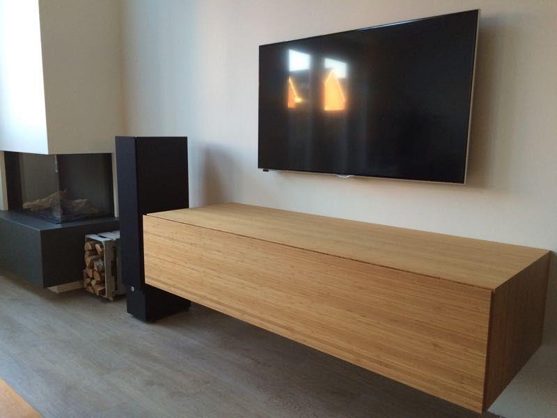 Zwevend tv meubel meubels pinterest tv zoeken en google - Plank wandmeubel ...