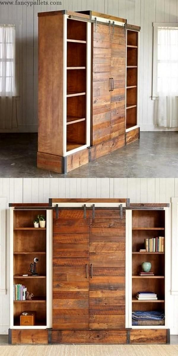 15+Fresh and Creative Recycled Pallet Crafts and Ideas