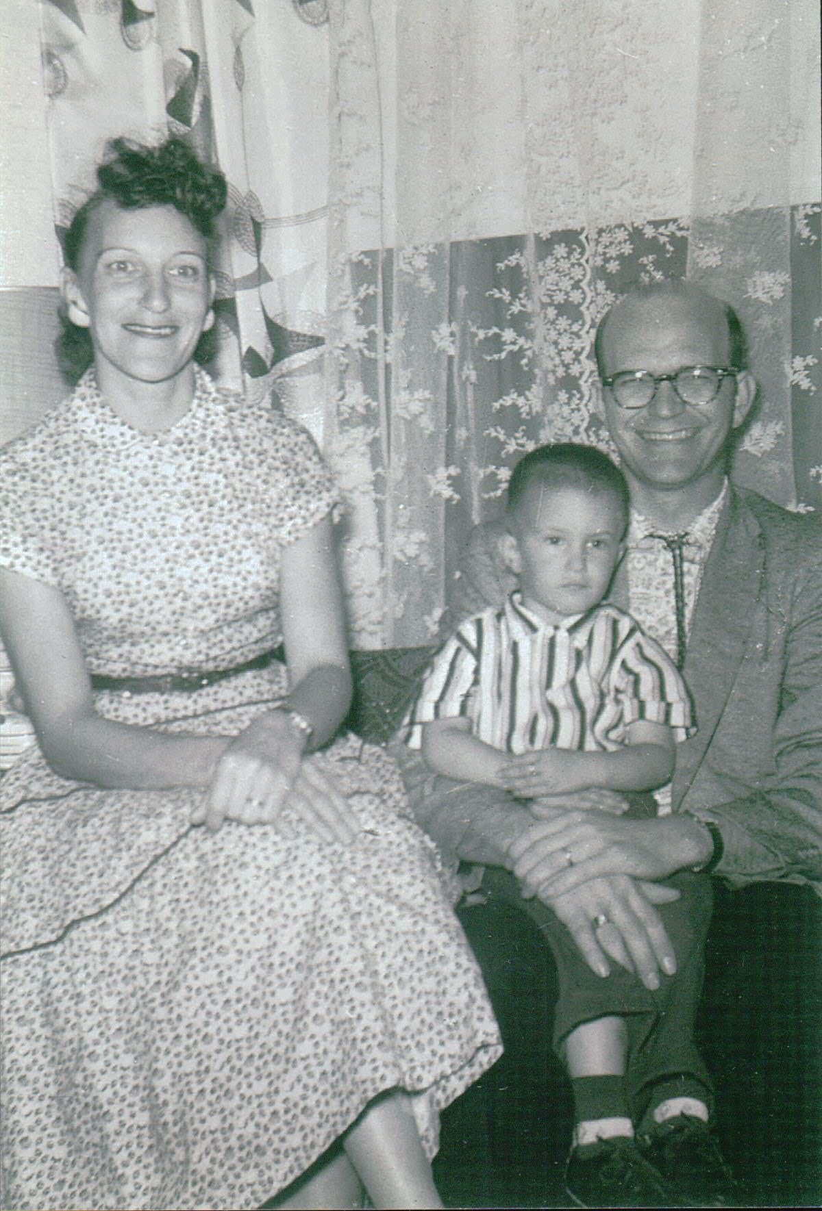 Bill & Jane Ketchum and family about 1957/1958.